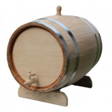 Дубовая бочка (колотый дуб) - 100 литров