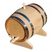 Дубовая бочка (колотый дуб) - 15 литров