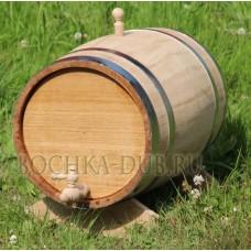 Дубовая бочка (колотый дуб) - 30 литров