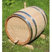 Дубовая бочка(колотый дуб) - 50 литров