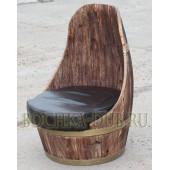 """Кресло под старину """"Бочка"""""""