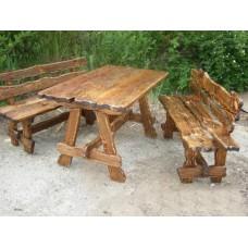 Стол деревянный состаренный 1