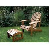 Садовое кресло массив
